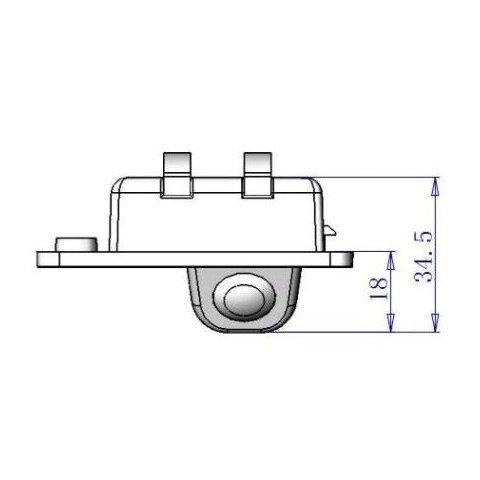 Автомобільна камера заднього виду для Audi Q7 Прев'ю 3