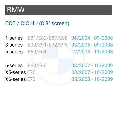 Безпровідний CarPlay та Android Auto адаптер для BMW з CCC Прев'ю 1