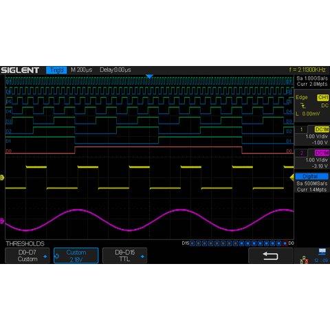 Super Phosphor Oscilloscope SIGLENT SDS2304X Preview 14