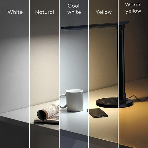 Lámpara LED de sobremesa TaoTronics TT-DL13, color negro, EU